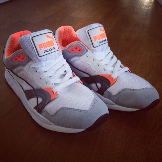 And the Whites/Grey/Infrared Puma xt1 too. Must have! Awesome <3