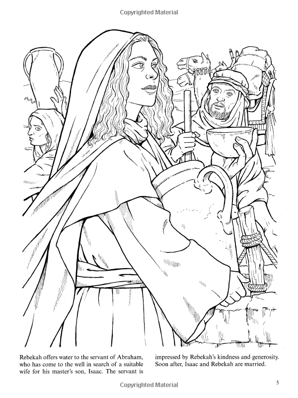 Women of the Bible (Dover Classic Stories Coloring Book ...