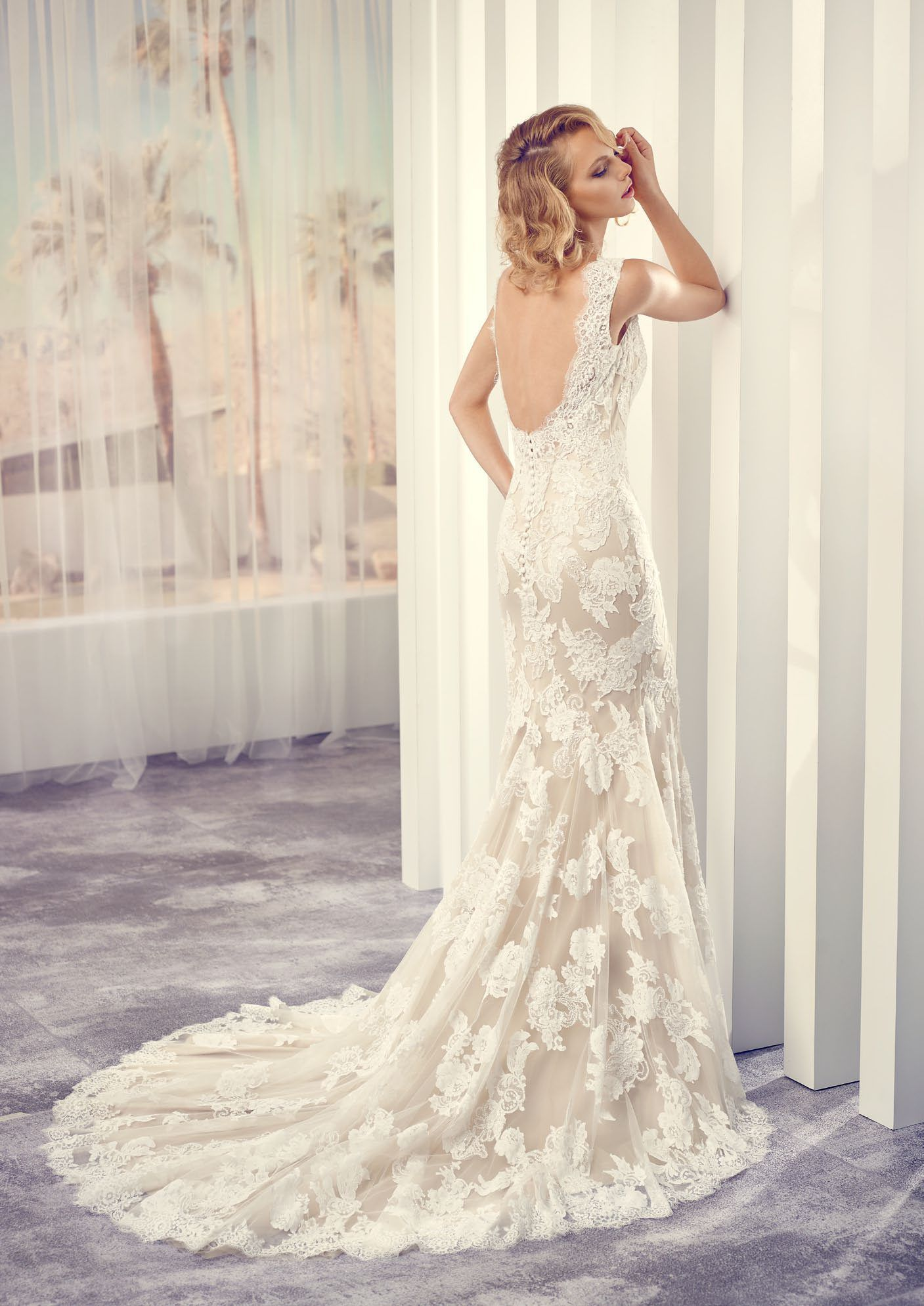 Wedding dress slip  Savita from the  Le Papillon Collection  Bryllup  Kjole