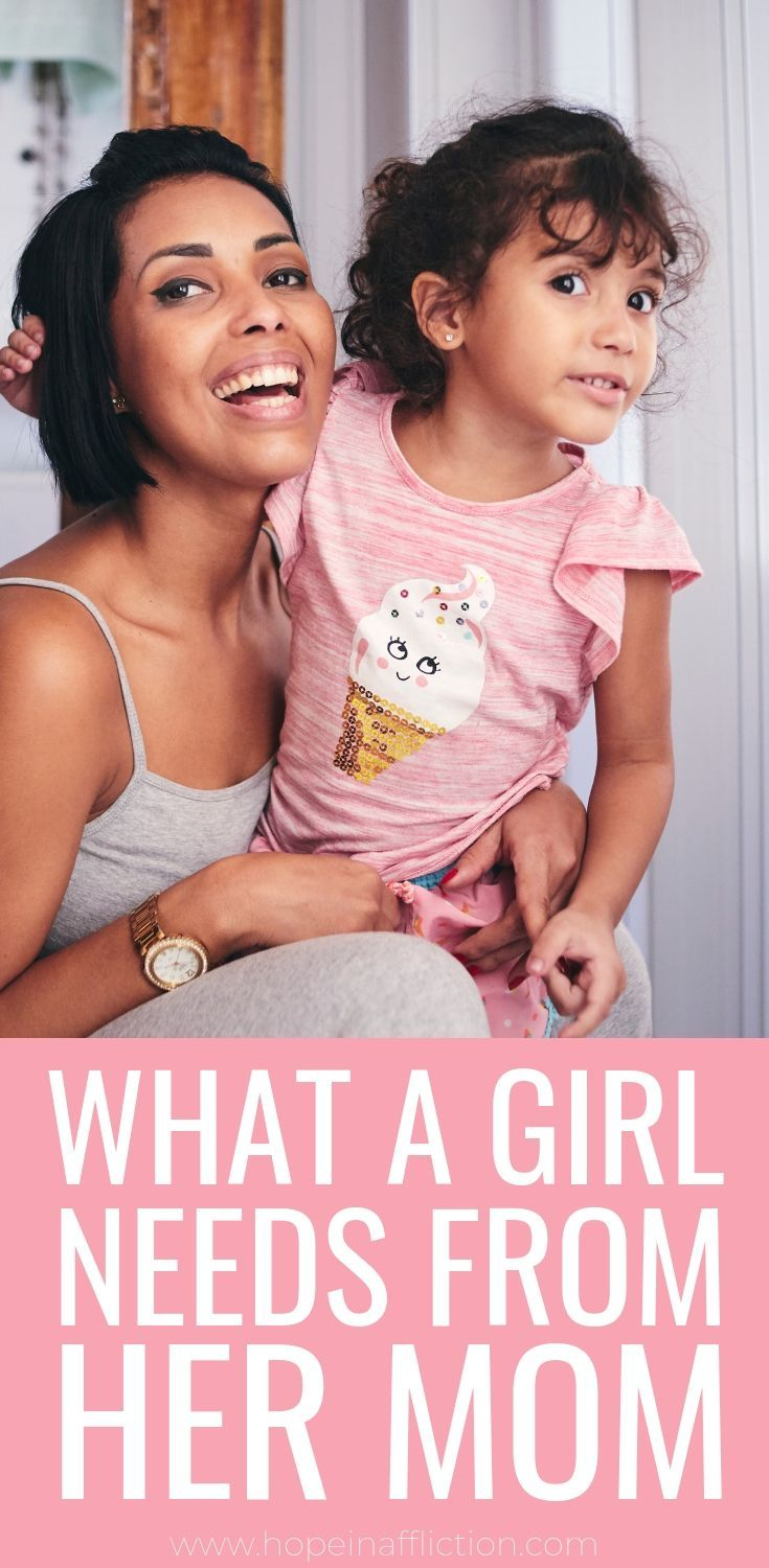 Read what your daughter needs from her mom! These 8 things will help strengthen your mother-daughter bond. #parenting #raisingdaughters #girls #parentingadvice #tips #hopeinaffliction