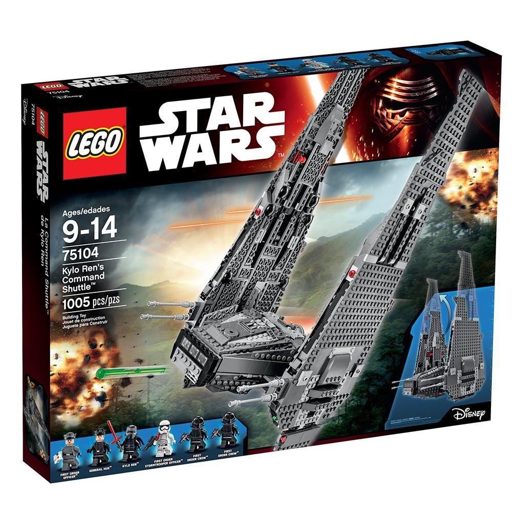 Lego Star Wars Tm Kylo Ren S Command Shuttle 75104 Lego Star Wars Sets Star Wars Set Star Wars Toys