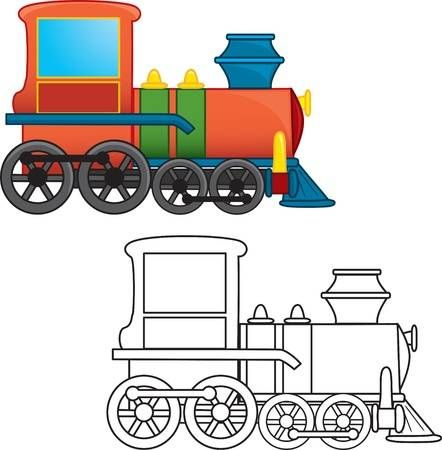 Train Toy Coloring Book Train Coloring Pages Toy Train Coloring Books
