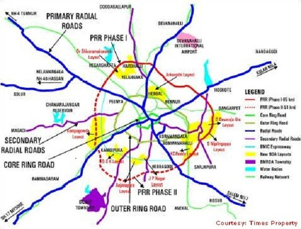 What Is The Latest Development In Bangalore S Peripheral Ring Road