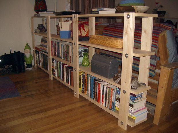 Cheap Easy Low Waste Bookshelf Plans Bookshelves Diy Diy