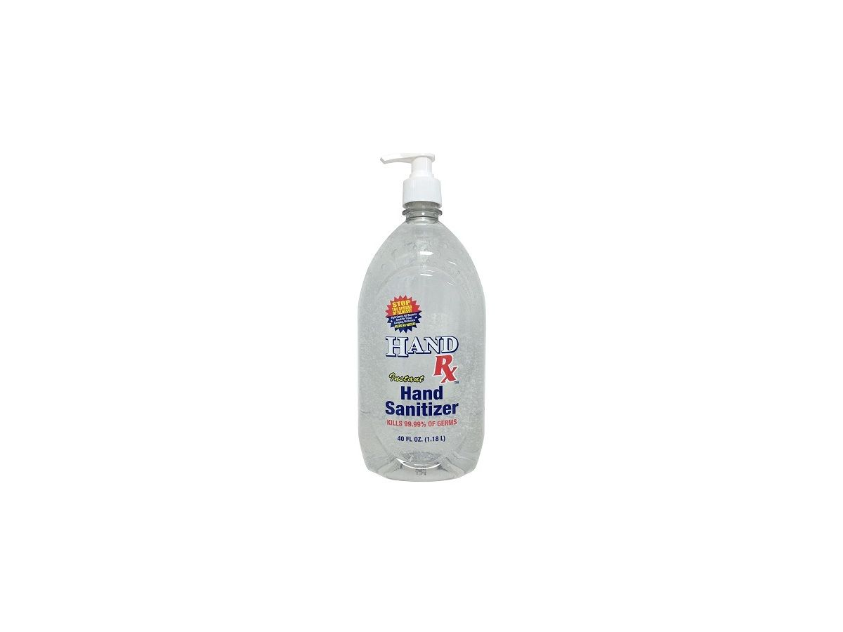 Hand Rx Instant Hand Sanitizer 40 Fl Oz Ingredients And Reviews
