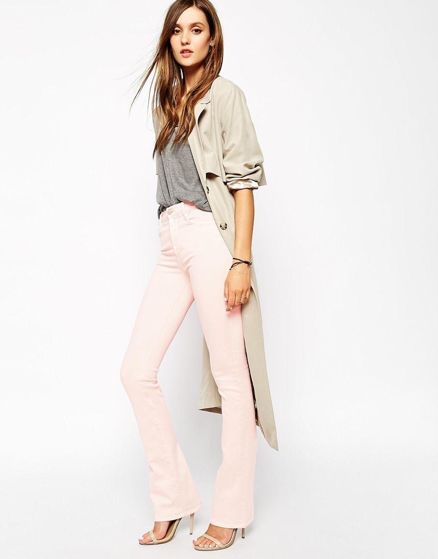 Couleurs pastels - Pantalon rose