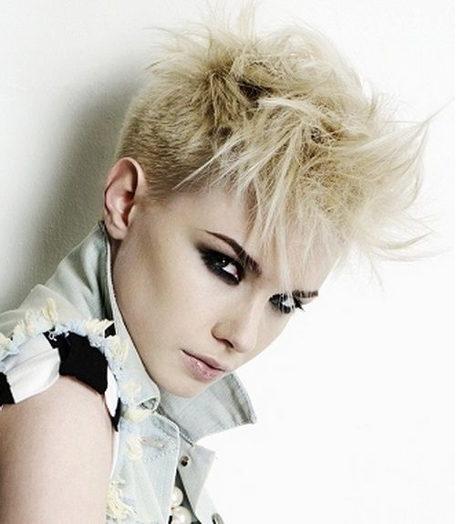 Short Punk Hairstyles for Women   Hair Styles   Pinterest   Short ...