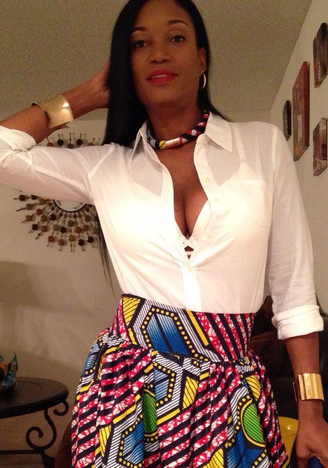 Ankara necklace #tribalnecklace #ankarafashion #necklace #Africa #Africanprint #Africanfabric #Ankara