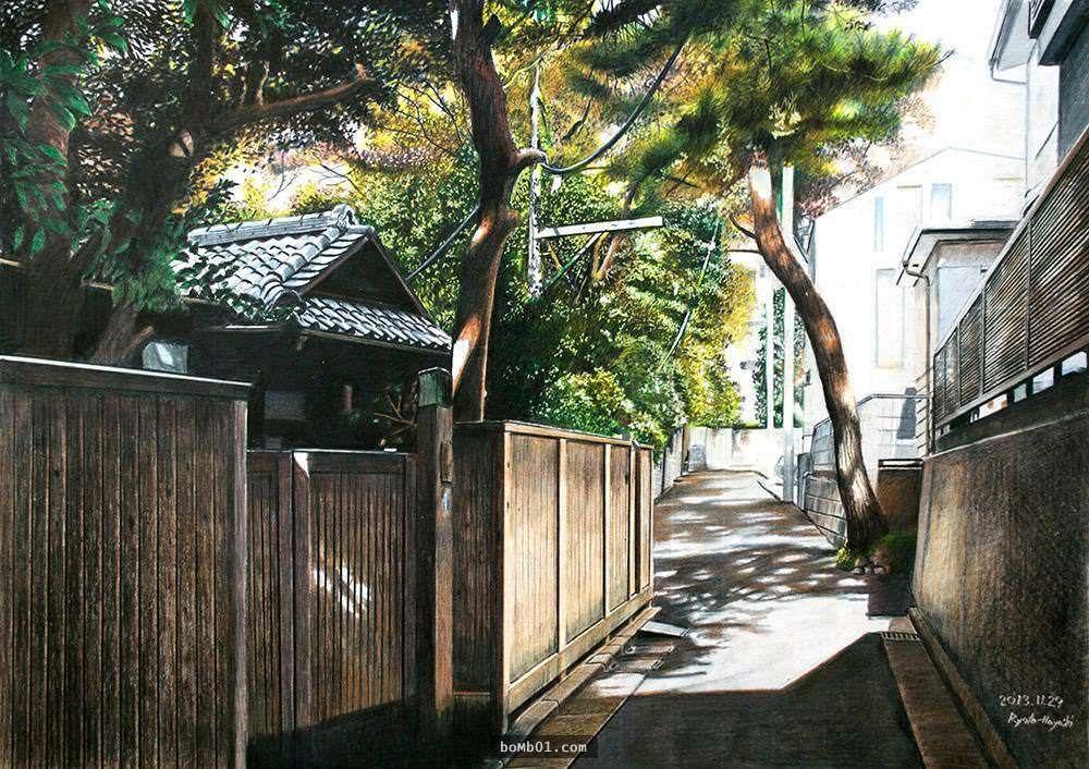 【家 住宅 House】 世界上的評論家看到這幅畫都會一直狂揉眼睛,因為他們根本不相信這樣的作品是用色鉛筆畫出來的! - boMb01