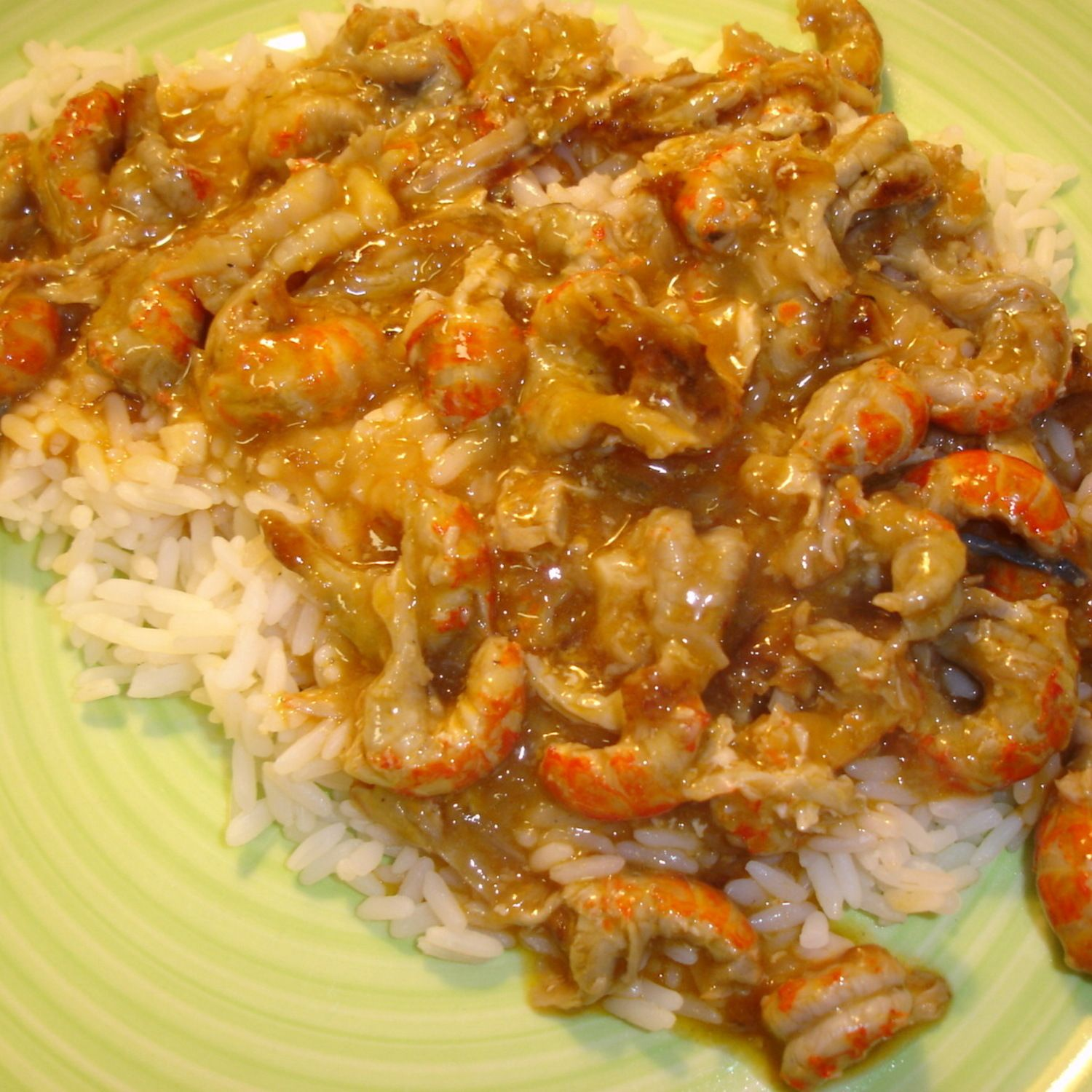 crazy easy crawfish etouffee recipe veggies sauces and butter