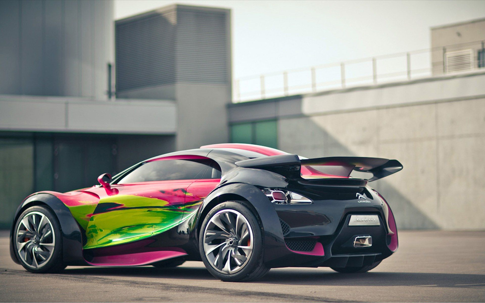 Citroen survolt concept art car 2010