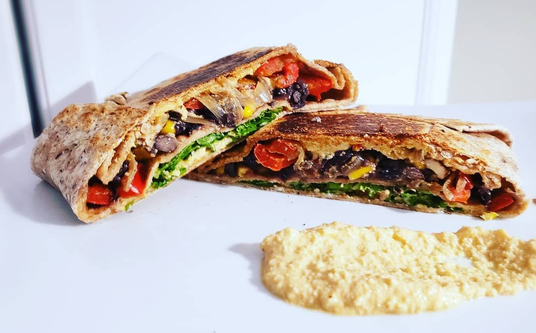 Burrito Quesadillas with fresh veggies and cashew chipolte cream sauce. -      Burrito Quesadillas with fresh veggies and cashew chipolte cream sauce.  #veganhealth #vegansofinstagram #vegansofig #plantbased #health #fresh #veganfood #veganeats #veganfoodshare #foodshare #quesadilla #nutrition #wellness #healthymeals #veganstrong #veganlife #plantbasedfitness #plantbasednutrition #nutrition #plants #poweredbyplants #instagood #instafood #dinneridea #veganrecipes #dinnerrecipes     The Effective