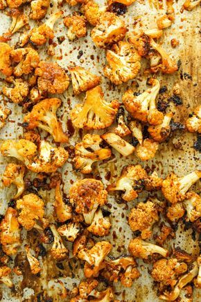 Photo of Sweet and Spicy Roasted Cauliflower
