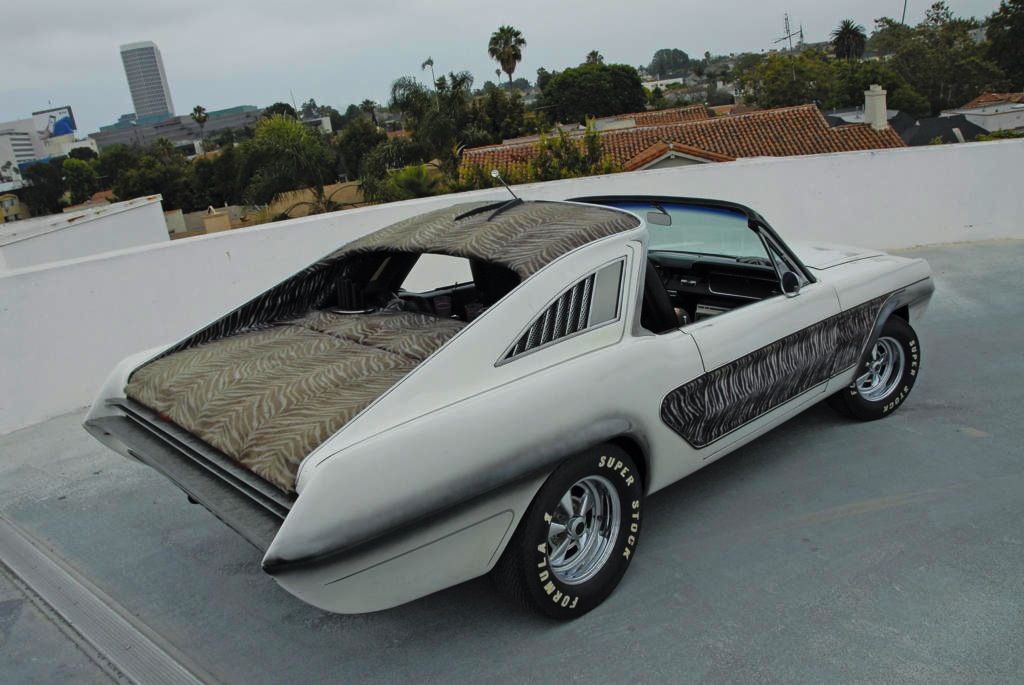 1965 Ford Mustang Zebra By George Barris Custom Cars Car Guys Mustang