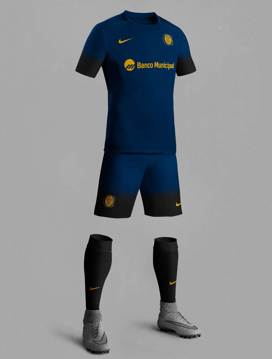c9cccfd0 Nike 15-16 Third Kit Inspired Football Kits | Rosario Central | The ...