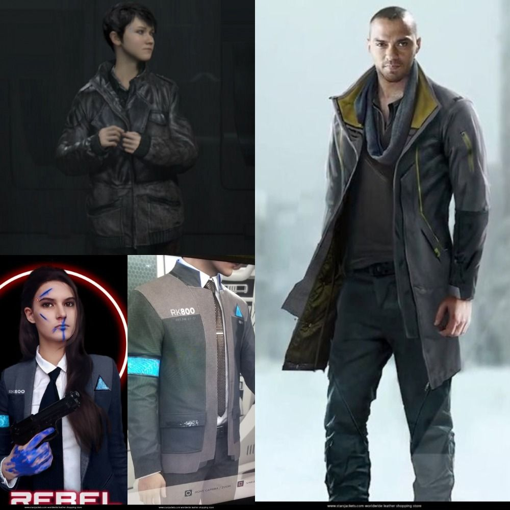 We Are Offering Special Packages On Detroit Become Human Jacket We Are Provide Free Avenger Key Chain On Every Lea Detroit Become Human Jackets Leather Jacket
