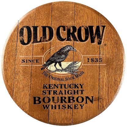 X Bourbon Barrel Head Old Crow JB06 Bourbon barrel
