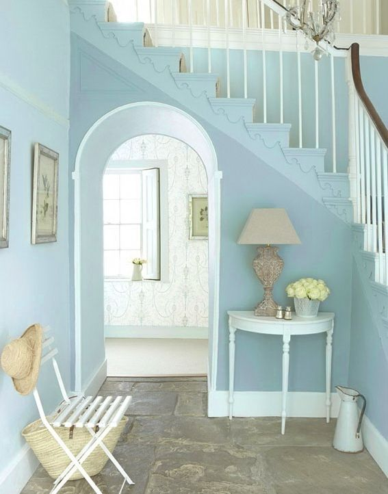 Perfect Paint Color For A Seaside Cottage