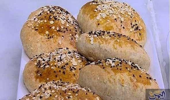طريقة عمل خبز بالشوفان Food Hamburger Bun Bread