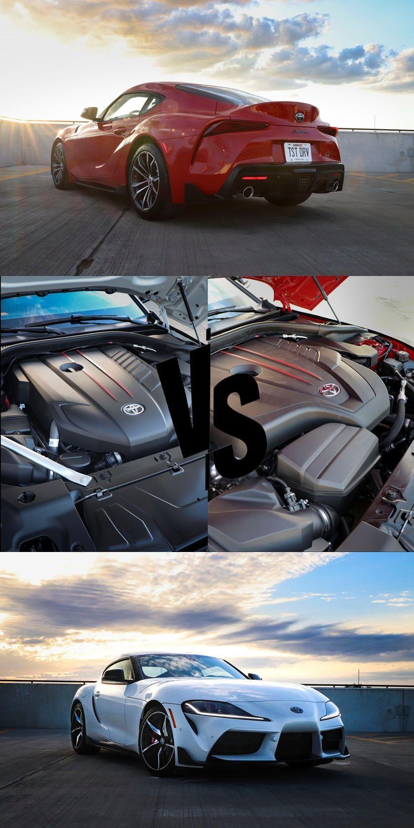 2021 Toyota Supra FourCylinder Vs. InlineSix Which Is
