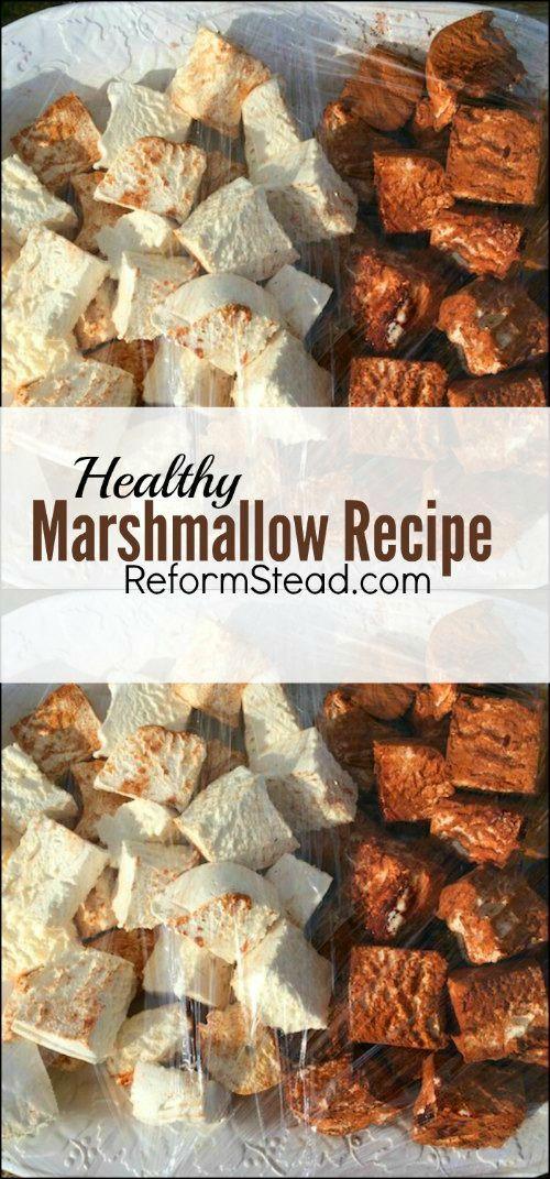 Marshmallow Recipe #healthymarshmallows