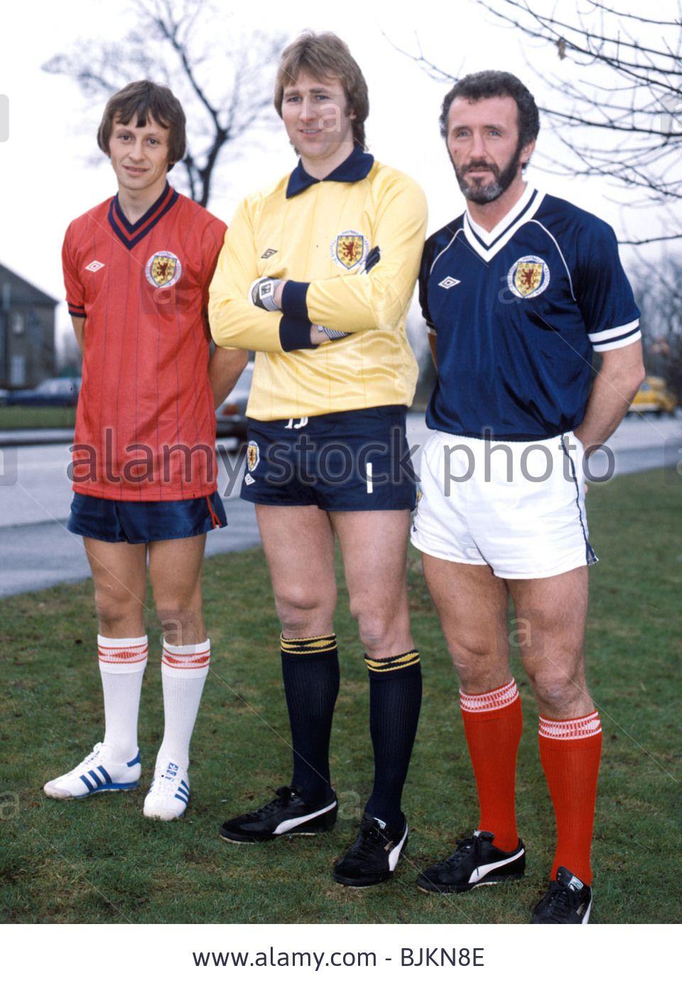 Season 1981/1982 Scotland (l-r) Paul Sturrock, Alan Rough, Danny Stock Photo, Royalty Free Image: 28707966 - Alamy