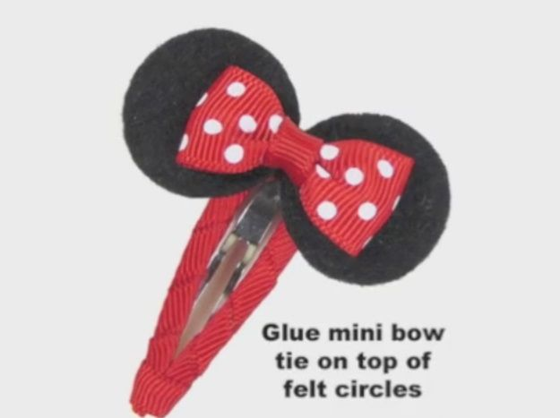 Minnie Mouse Clippie