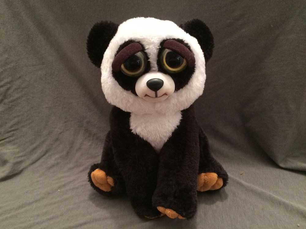 Feisty Pets Black Belt Bobby William Mark Plush Adorable Plush Stuffed Panda Ebay Pets Plush Animals Adorable