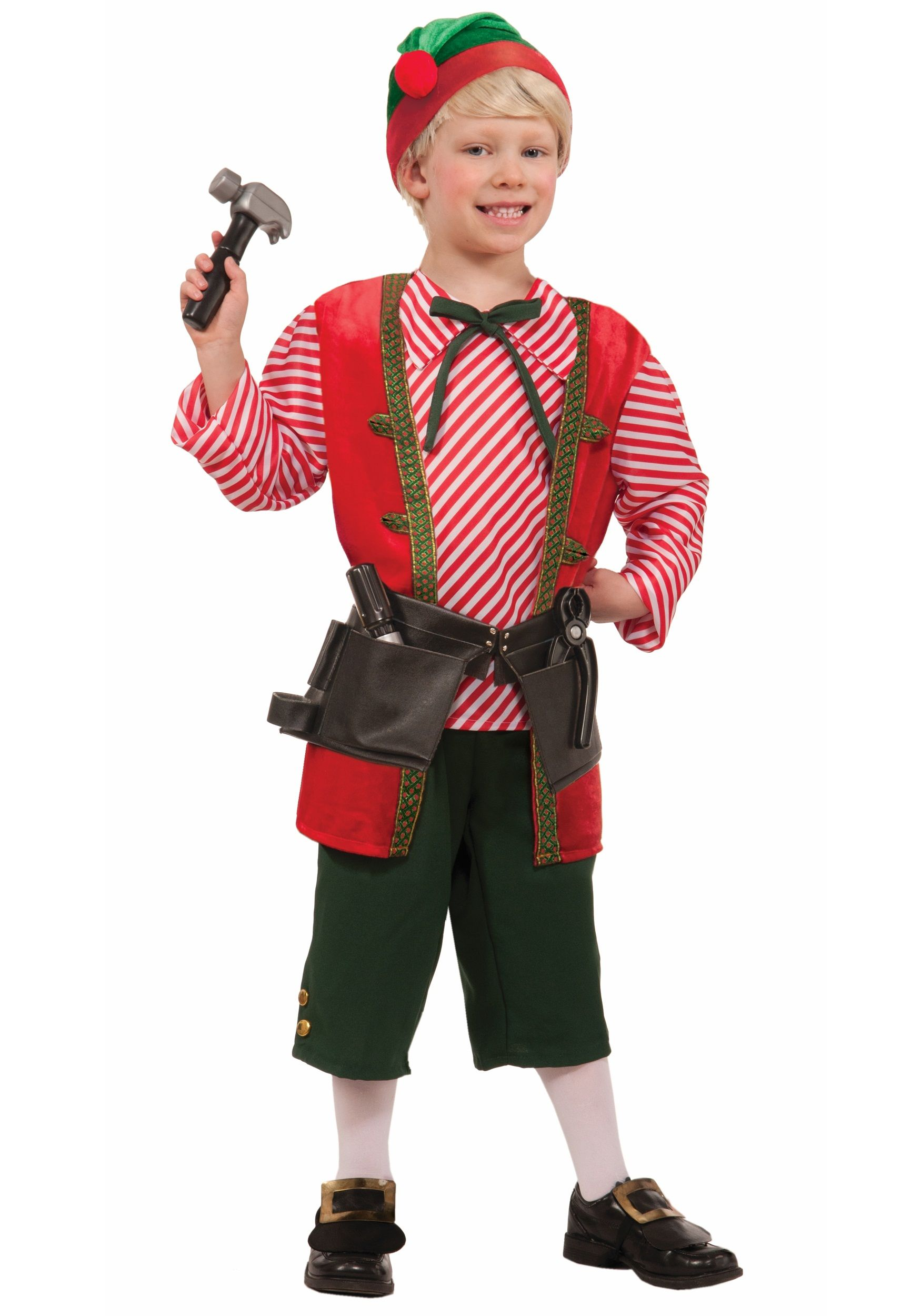 Child Toy Maker Elf Costume Halloween costumes for kids