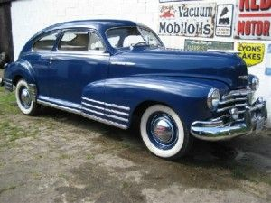 1948 Chevrolet Fleetline Aerosedan Coupe Dash Letsgetwordy