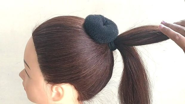 Awesome Bun Hairstyle For Party or Wedding #updotutorial Awesome Bun Hairstyle F…