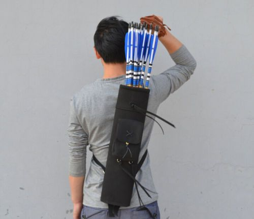 21-Back-Quiver-Bow-Pot-Archery-3-Point-Harness-Waterproof-arrows-Accessories