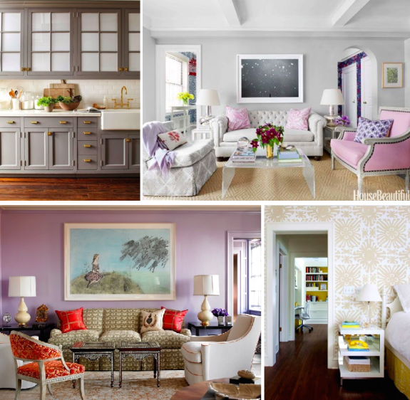 Purple Living Room Project Pluto Via Bailey Quin Original Source Unknown Purple Living Room Living Spaces Home