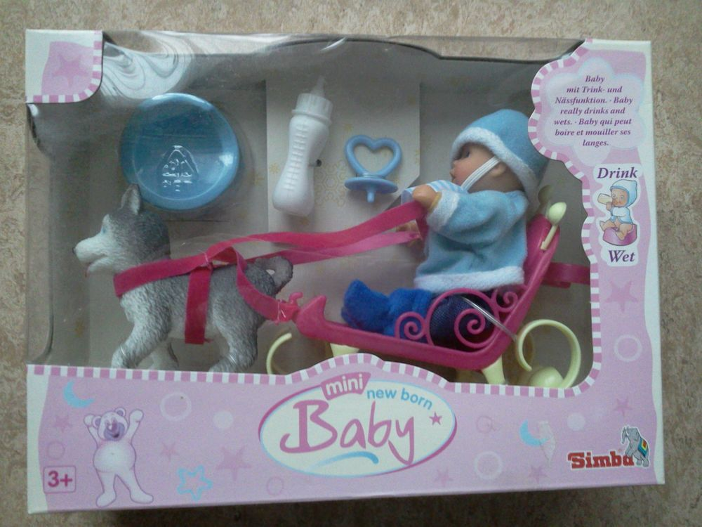 Mini Baby Born Set