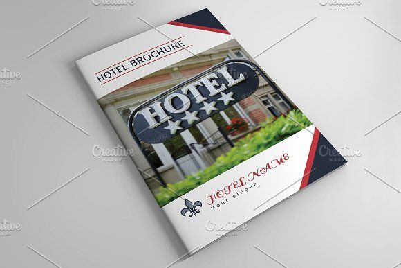 Hotel Brochure Template V By Template Shop On Creativemarket