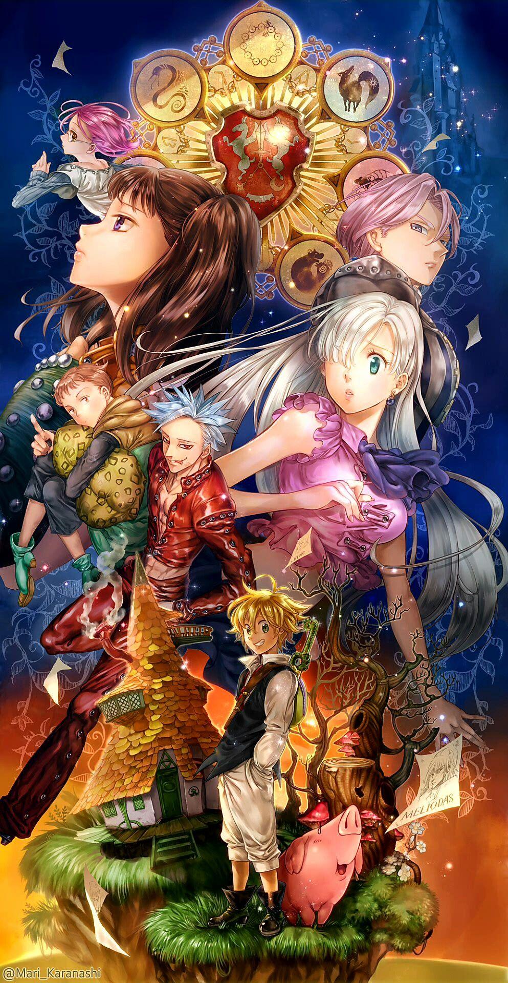 Nanatsu no Taizai / fanart   Seven deadly sins anime ...