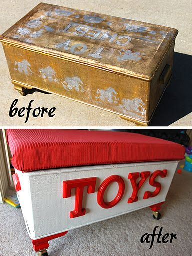 Tater Tot Egg Sausage Waffles Recipe Garage Sale Finds Boys Toy Box Toy Boxes