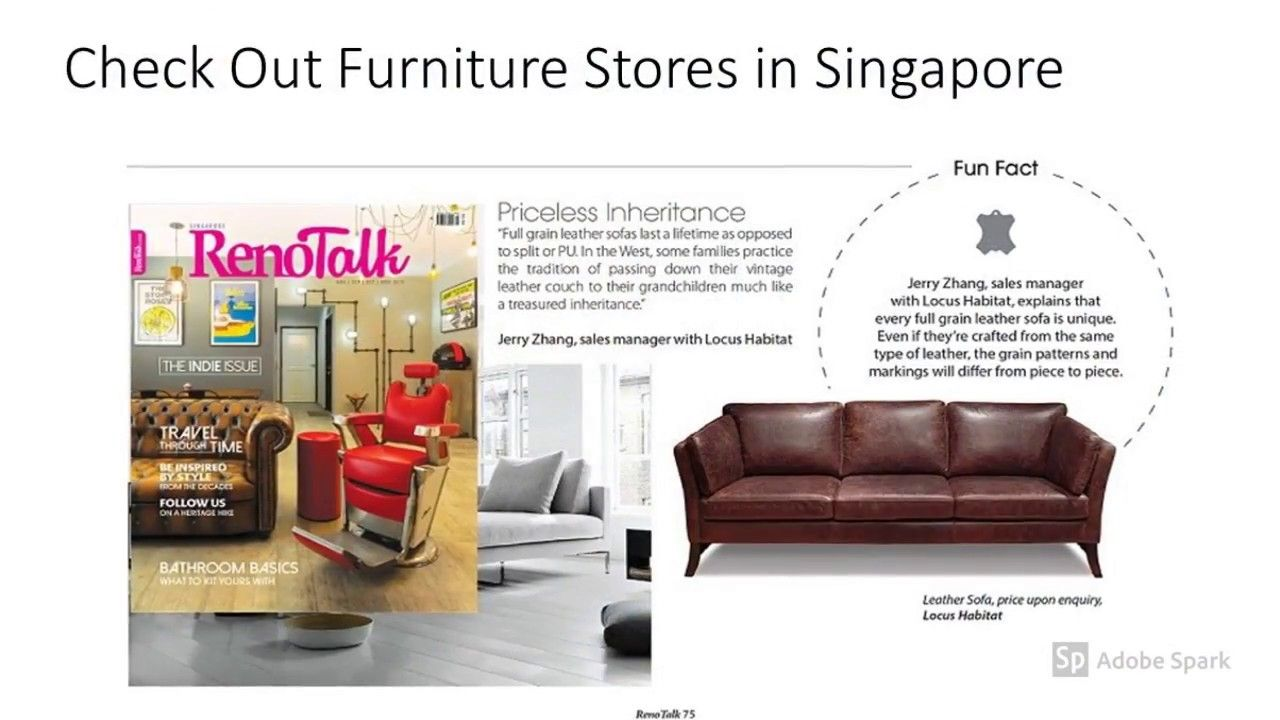 Pin By Locushabitat0 On Furniture Stores In Singapore Www Locushabitat Com Full Grain Leather Sofa Furniture Furniture Store
