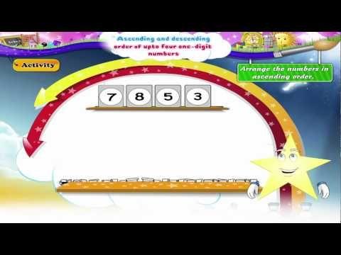 Learn Grade 1 Maths Ascending And Descending Order 1st Grade Math Math Grade 1