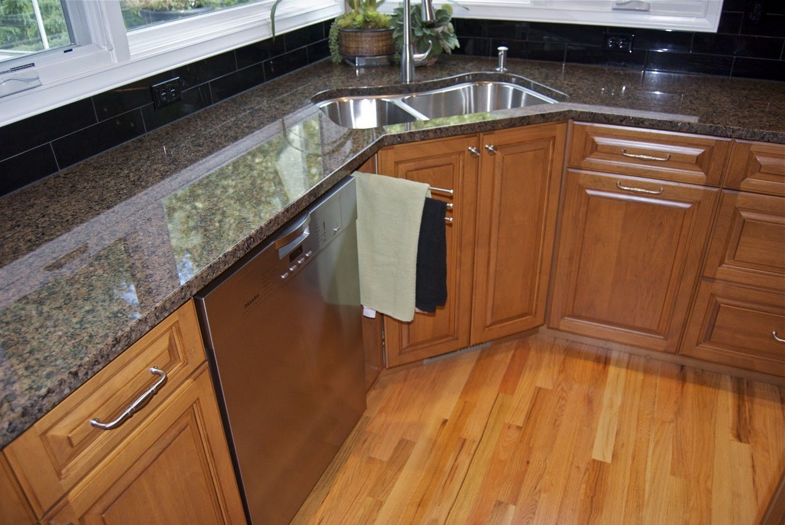 interesting granite countertops and sinks ideas. White Wall Cabinet Or Storage Fitted Granite Countertop Attached And  Interesting Corner Kitchen Sink