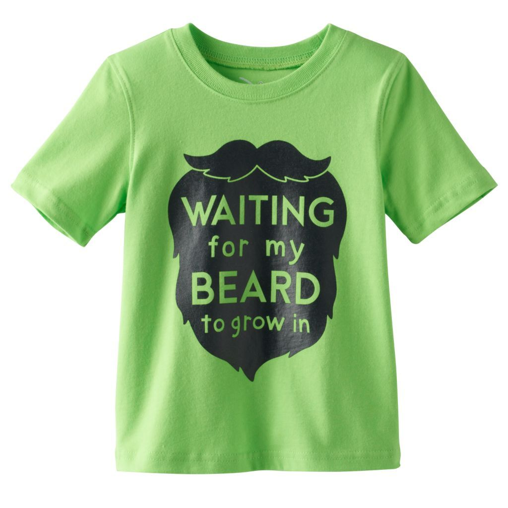 Happy St Patricks Day mustache Youth T-shirt St Patrick/'s Day funny kids tee