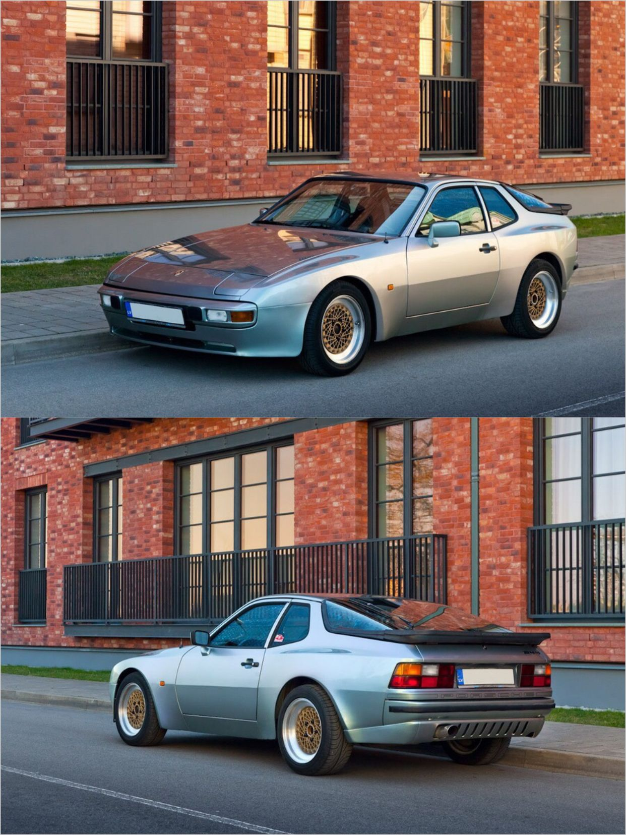 1982 Porsche 944 With Aftermarket Bbs Wheels And Euro Rear Valance Porsche 944 Porsche Vintage Porsche