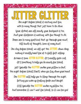 photograph relating to Jitter Glitter Poem Printable named Graphic consequence for jitter glitter poem printable schooling