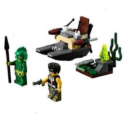 Monster Fighters THE SWAMP CREATURE Set 9461 NEW with Minifigures  LEGO Monster Fighters THE SWAMP CREATURE Set 9461 NEW with Minifigures   Brownie Torte Recipe Donut Mug...
