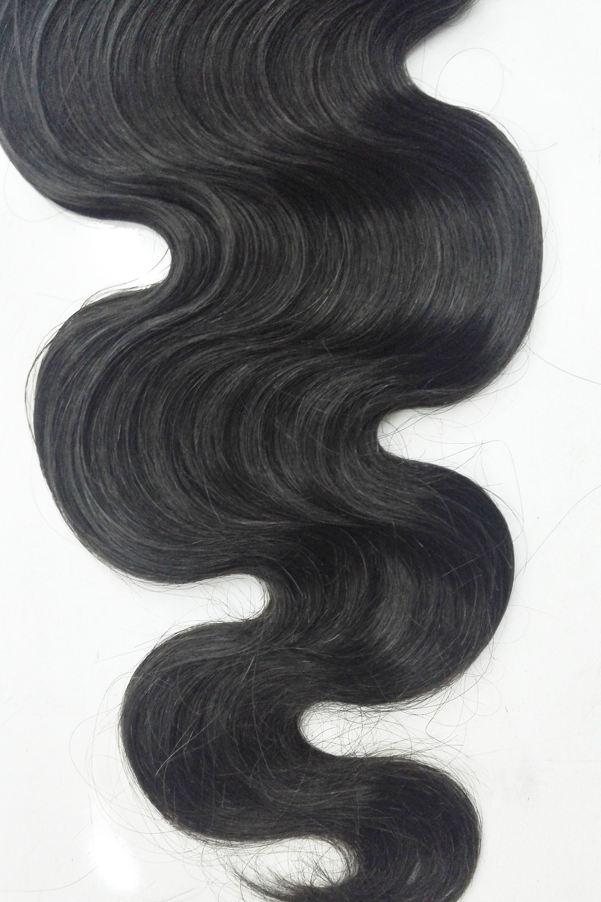 Trendy hairstyle indian hair with high thickness black