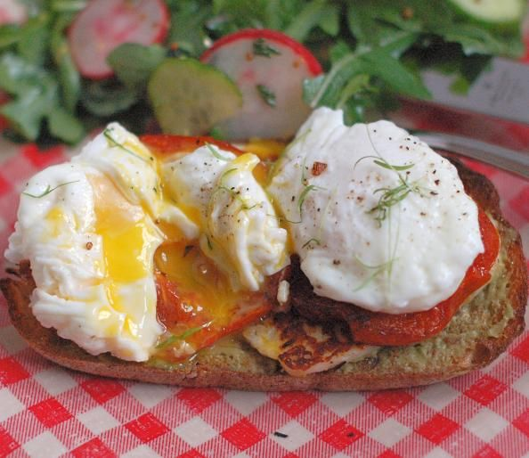 Mediterranean Style Egg and Cheese