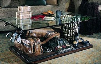 Golf Themed Coffee And End Tables