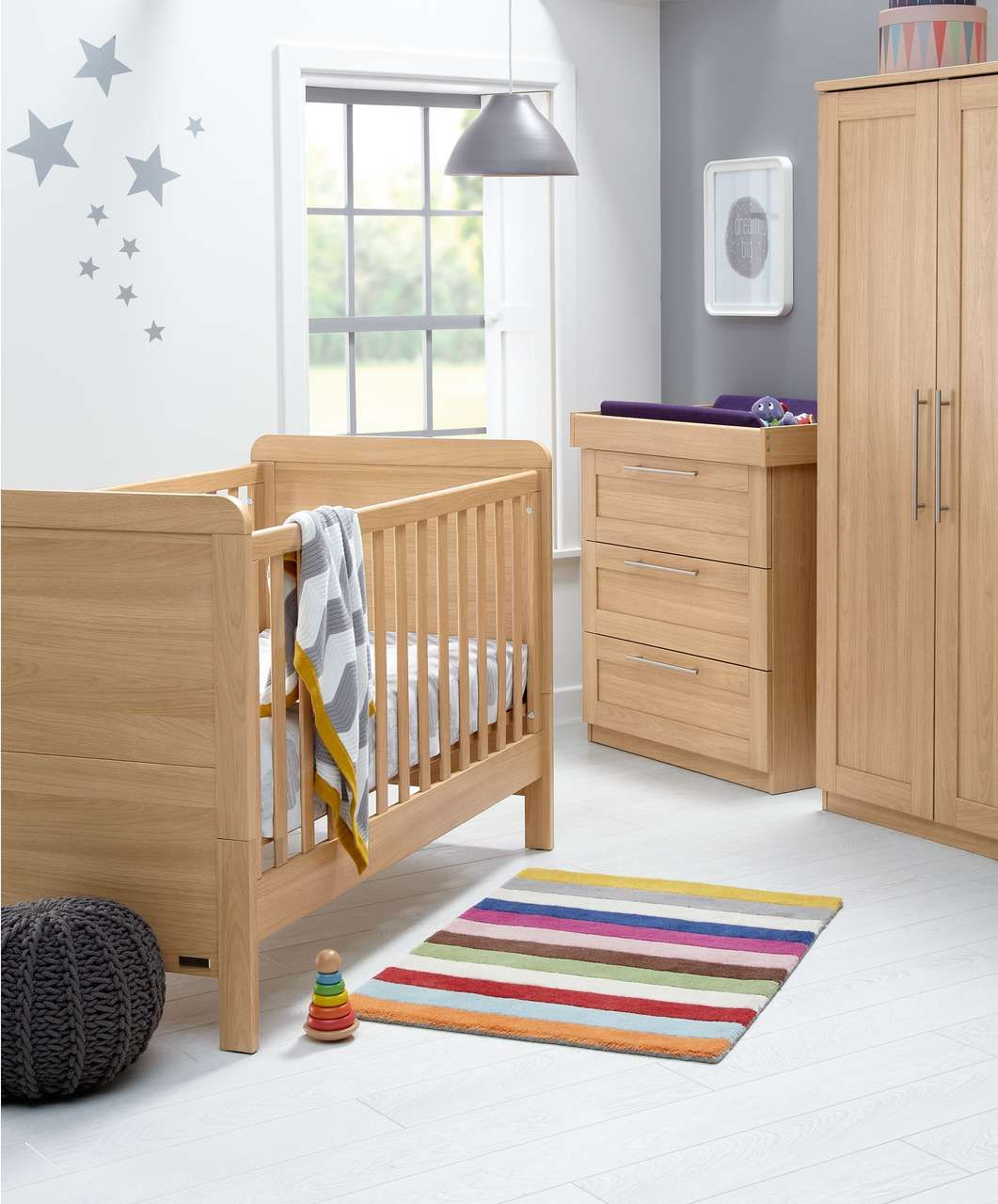 Mamas And Papas Bedroom Furniture Rialto 3 Piece Set Natural Oak Contemporary Mamas Papas