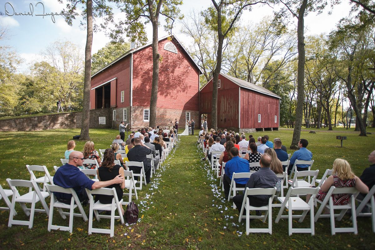 barn at tinicum park outdoor wedding venue red barn in bucks county pa