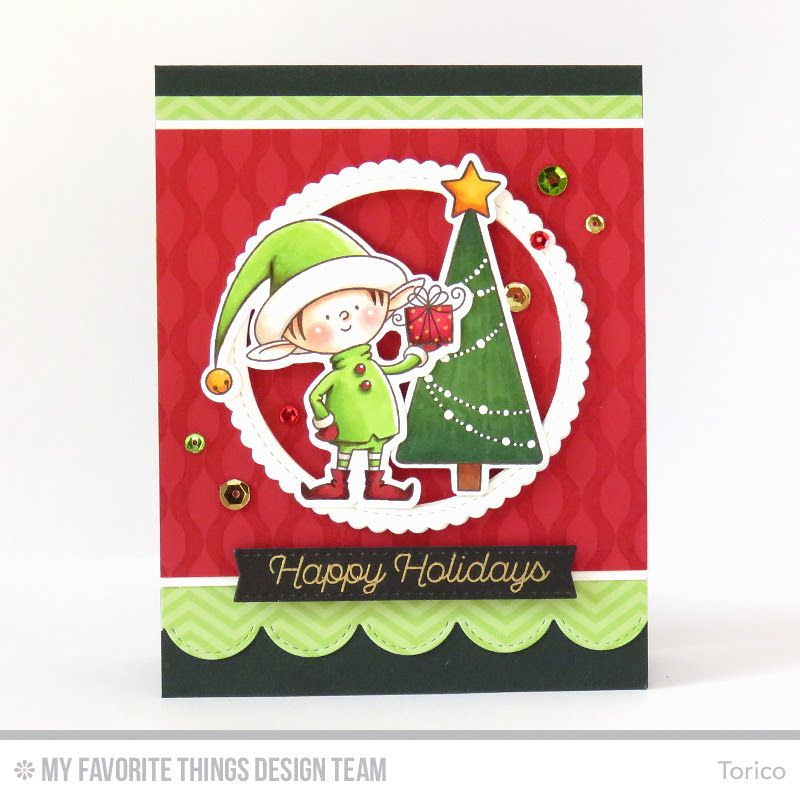 Color Throwdown Challenge 373 Elf Christmas Card Christmas Tree Cards Christmas Cards Handmade